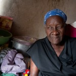 Margaret Oguisten, 85, who sells cookies from a small shop in Port-au-Prince's Delmas sector, said she's tired of Haiti's election controversy overshadowing the nation's larger problems. -Jacob Kushner