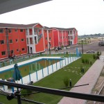 City of the River, a private development being built to house Kinshasa's wealthy just across from one of its most struggling neighborhoods. -Jacob Kushner